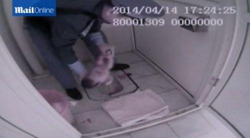 Xót thương bé sơ sinh bị mẹ bỏ rơi trong bồn cầu - Ảnh 1
