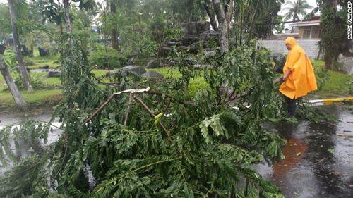 Chùm ảnh bão Hagupit đổ bộ vào Philippines - Ảnh 5