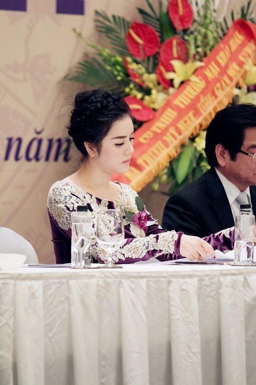 Lý Nhã Kỳ nhận chức Phó chủ tịch hội Nghệ nhân và thương hiệu Việt - Ảnh 4
