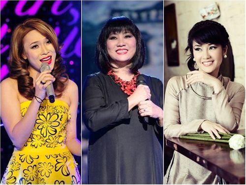 """Mỹ Tâm, Cẩm Vân, Hồng Nhung khiến khán giả say đắm """"màu mắt em"""" - Ảnh 1"""