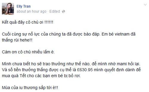 """""""Em bé vui tính"""" nhà Elly Trần giành giải nhất Baby Vote - Ảnh 3"""