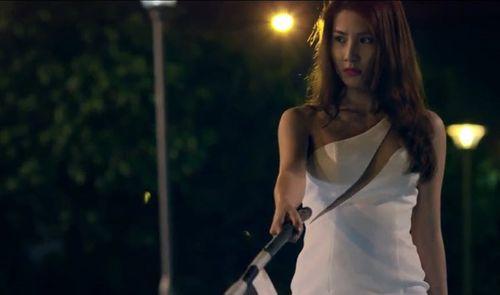Hé lộ cảnh nóng chớp nhoáng của Diễm My 9x trong phim mới - Ảnh 1