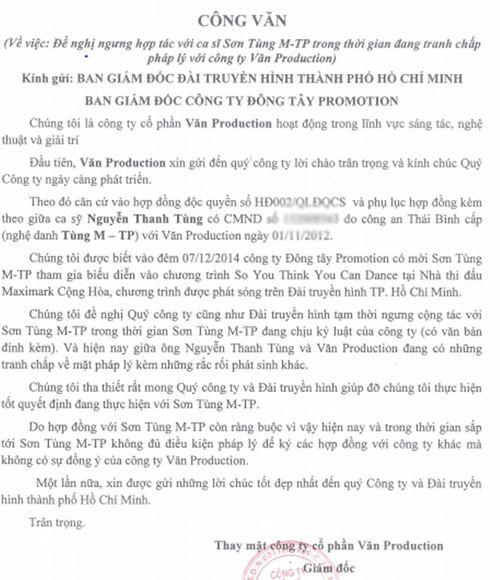 Sơn Tùng M-TP bị cấm lên sóng truyền hình trực tiếp - Ảnh 1