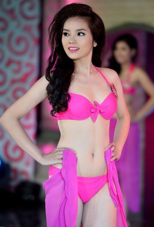 Hành trình giảm cân khốc liệt của Hoa hậu Việt Nam 2014 - Ảnh 3