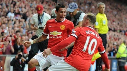 M.U đón tin dữ từ Rooney và Di Maria - Ảnh 1