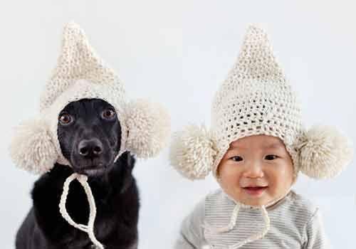 Xem bộ ảnh đáng yêu về em bé và chú chó cưng - Ảnh 2