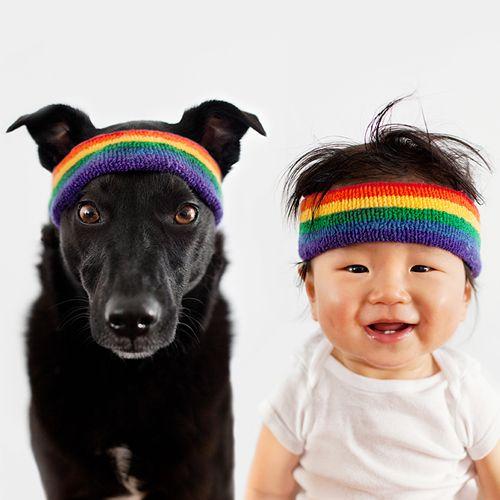Xem bộ ảnh đáng yêu về em bé và chú chó cưng - Ảnh 3