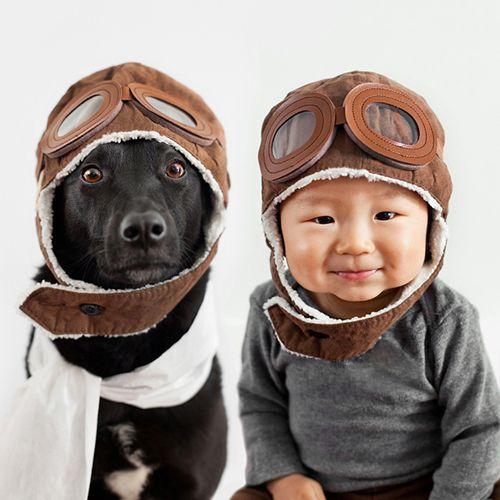 Xem bộ ảnh đáng yêu về em bé và chú chó cưng - Ảnh 5