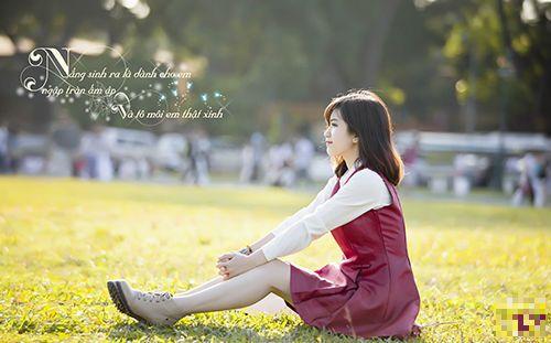 """Nhan sắc hot girl Kiến Trúc vừa đệm đàn vừa hát """"Để mãi có nhau"""" - Ảnh 10"""