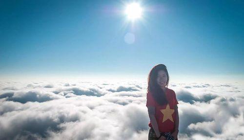 Xôn xao cô gái 9X cầu hôn bạn trai trên đỉnh Fansipan - Ảnh 3