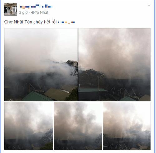 Cháy chợ Nhật Tân: Nỗi buồn khi tết sắp đến - Ảnh 2
