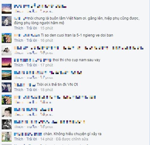 """Việt Nam 2-4 Malaysia: Dân mạng """"khóc"""" vì ĐT Việt Nam thất bại - Ảnh 4"""