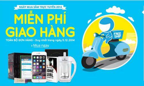 Ngày mua sắm trực tuyến đầu tiên ở Việt Nam chính thức bắt đầu - Ảnh 1
