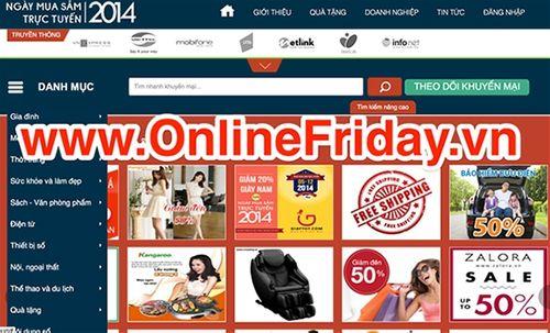 Doanh số bán hàng online tăng vọt trong ngày mua sắm trực tuyến - Ảnh 1