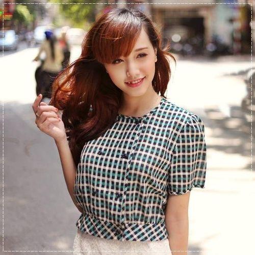 """Ngắm nhan sắc """"tựa thiên thần"""" của hot girl Kim Ngân - Ảnh 4"""
