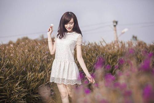 """Ngắm nhan sắc """"tựa thiên thần"""" của hot girl Kim Ngân - Ảnh 5"""