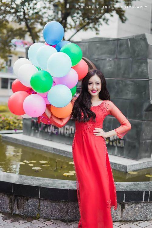 """Ngắm nhan sắc """"tựa thiên thần"""" của hot girl Kim Ngân - Ảnh 7"""
