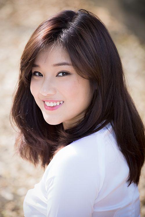 Hot girl Hoàng Yến Chibi đẹp tinh khôi trong tà áo dài - Ảnh 7