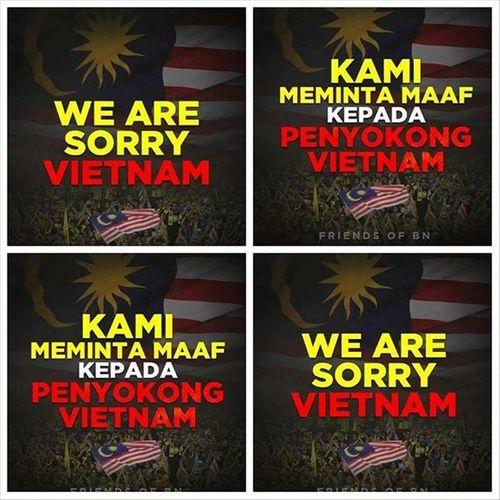 Người hâm mộ Malaysia đăng ảnh xin lỗi CĐV Việt Nam - Ảnh 12