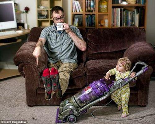 Bộ ảnh cảm động về tình yêu gia đình khiến nhiều người thổn thức - Ảnh 8
