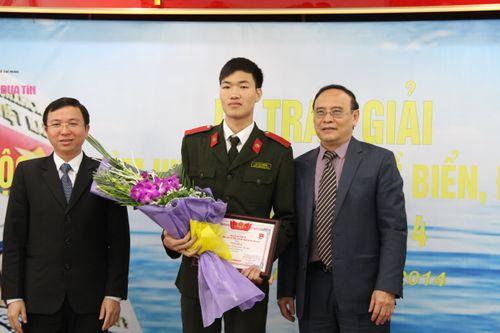 """Trao giải cuộc thi """"Tìm hiểu pháp luật về biển đảo Việt Nam 2014"""" - Ảnh 4"""