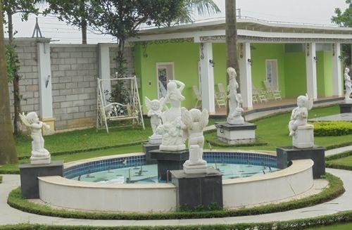 Vườn tượng tiền tỷ của đại gia học làm quý tộc - Ảnh 2