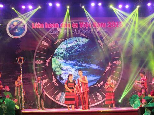 Khai mạc Liên hoan dân ca Việt Nam khu vực Bắc Trung Bộ 2015 - Ảnh 2