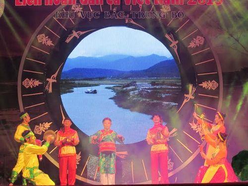 Khai mạc Liên hoan dân ca Việt Nam khu vực Bắc Trung Bộ 2015 - Ảnh 4