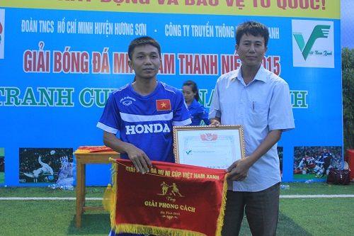 Kết thúc thành công giải bóng đá mini nam thanh niên tranh Cup Việt Nam Xanh - Ảnh 2