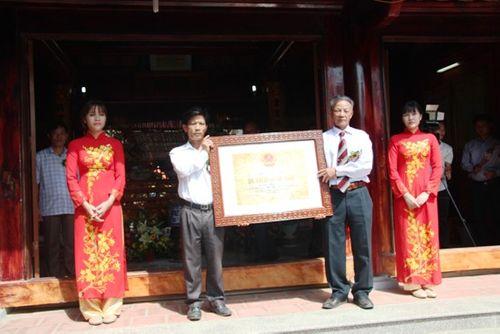Đền Bà Cô đón nhận bằng di tích lịch sử cấp quốc gia - Ảnh 5
