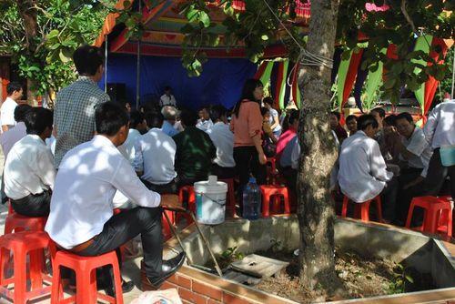 Nghệ An: Tổ chức lễ Kỳ Khoa cầu cho học sinh chuẩn bị thi cử - Ảnh 1