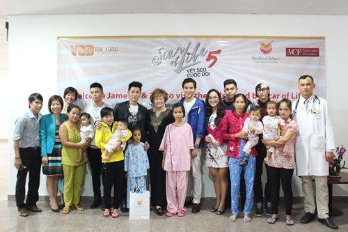 Hotboy Thái james Jirayu thăm trẻ em bệnh tim ở Việt Nam - Ảnh 4