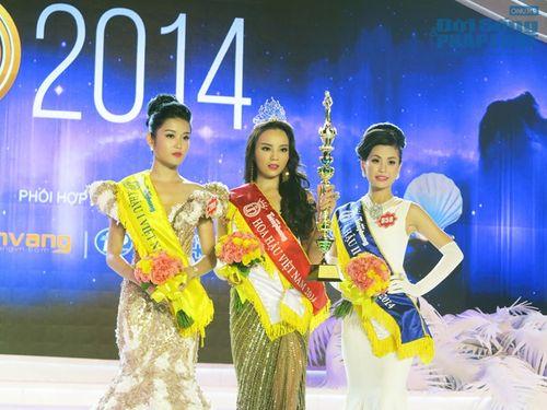 Bố mẹ Hoa hậu Việt Nam 2014 hâm mộ MC Kỳ Duyên nên đặt tên con - Ảnh 4
