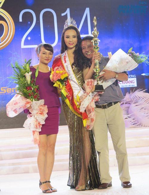 Bố mẹ Hoa hậu Việt Nam 2014 hâm mộ MC Kỳ Duyên nên đặt tên con - Ảnh 3