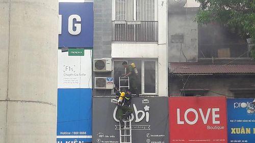 Hà Nội: Thêm một vụ cháy nhà tầng trên địa bàn Cầu Giấy - Ảnh 1