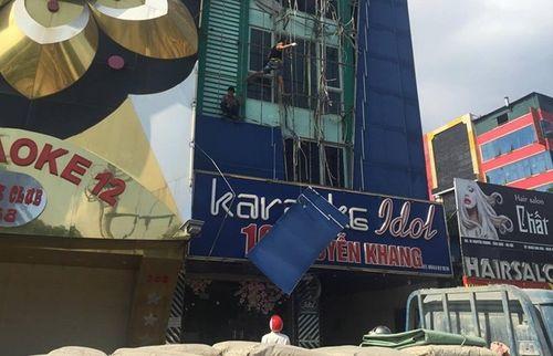 Đình chỉ hàng loạt quán Karaoke trên địa bàn Cầu Giấy - Ảnh 1