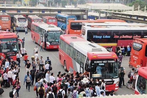 Hà Nội: Tiếp tục điều chuyển hàng loạt luồng tuyến vận tải hành khách - Ảnh 1