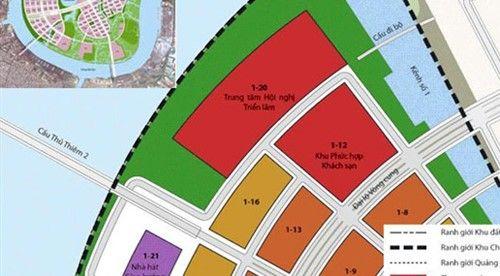 TP HCM xây trung tâm hội nghị tại khu đô thị Thủ Thiêm - Ảnh 1