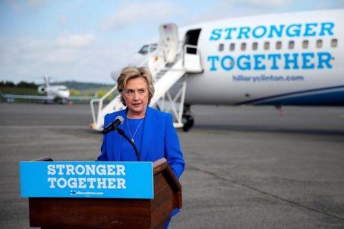 Dù viêm phổi, Hillary vẫn dẫn trước Trump - Ảnh 1