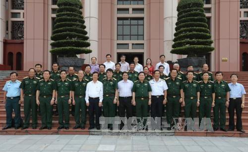 Quân ủy Trung ương góp ý xây dựng, chỉnh đốn Đảng - Ảnh 2