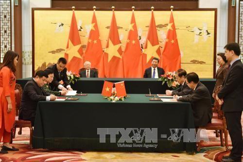 VN - TQ ra Thông cáo chung nhân chuyến thăm của Tổng Bí thư Nguyễn Phú Trọng - Ảnh 1