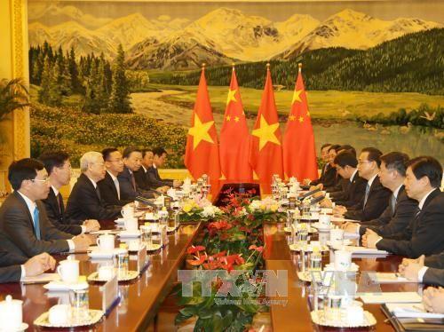 VN - TQ ra Thông cáo chung nhân chuyến thăm của Tổng Bí thư Nguyễn Phú Trọng - Ảnh 4