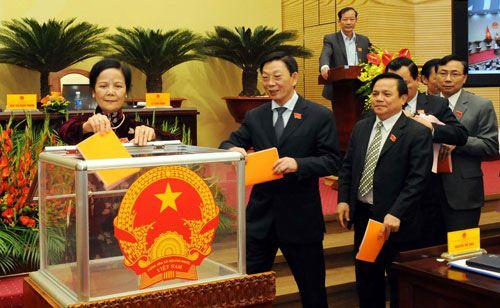 Hà Nội công bố kết quả lấy phiếu tín nhiệm 15 chức danh chủ chốt - Ảnh 1