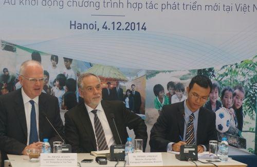 EU viện trợ 400 triệu euro cho Việt Nam giai đoạn 2014 - 2020 - Ảnh 1