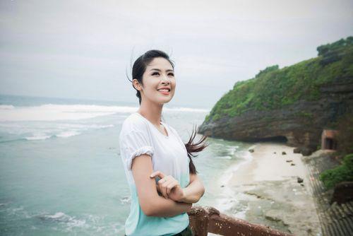 Ngọc Hân kêu gọi bảo vệ môi trường biển đảo tại Lý Sơn - Ảnh 15