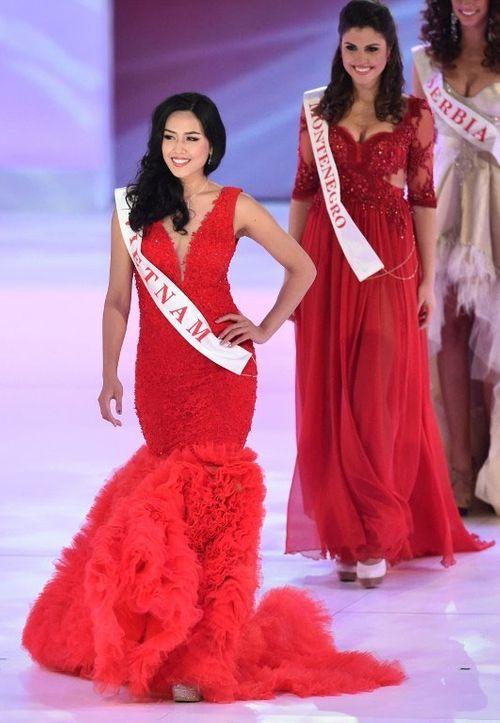 Nguyễn Thị Loan tiếc nuối vì trượt Top 10 Hoa hậu Thế giới 2014 - Ảnh 1