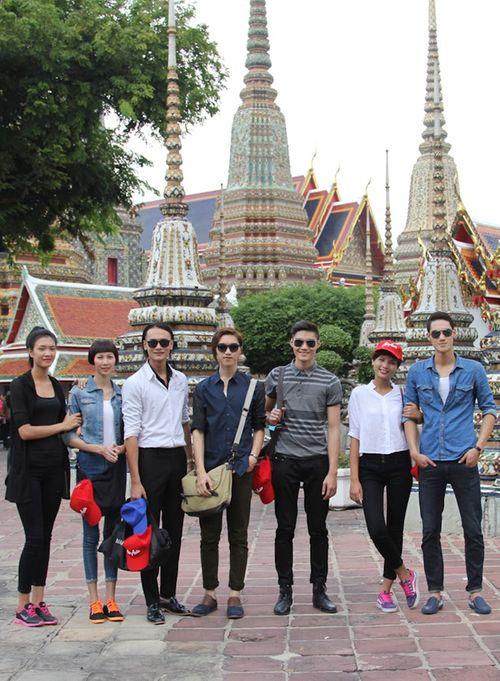 Top 7 Vietnam's Next Top Model khám phá Thái Lan - Ảnh 2
