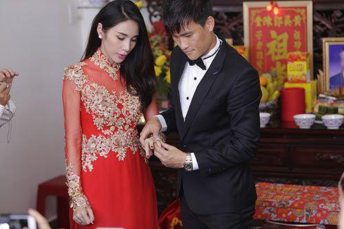 Những hình ảnh đẹp trong đám cưới cuối năm của showbiz Việt - Ảnh 4