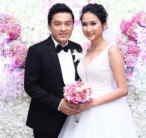 Những hình ảnh đẹp trong đám cưới cuối năm của showbiz Việt - Ảnh 2