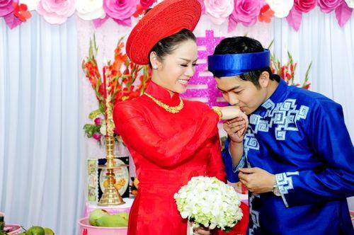 Những hình ảnh đẹp trong đám cưới cuối năm của showbiz Việt - Ảnh 9